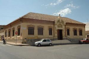 Fachada del Museo Minero en el Liceo. Foto:  M. A.  Álvarez Areces