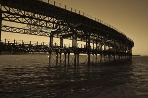 Muelle del Tinto. Pericoterrades