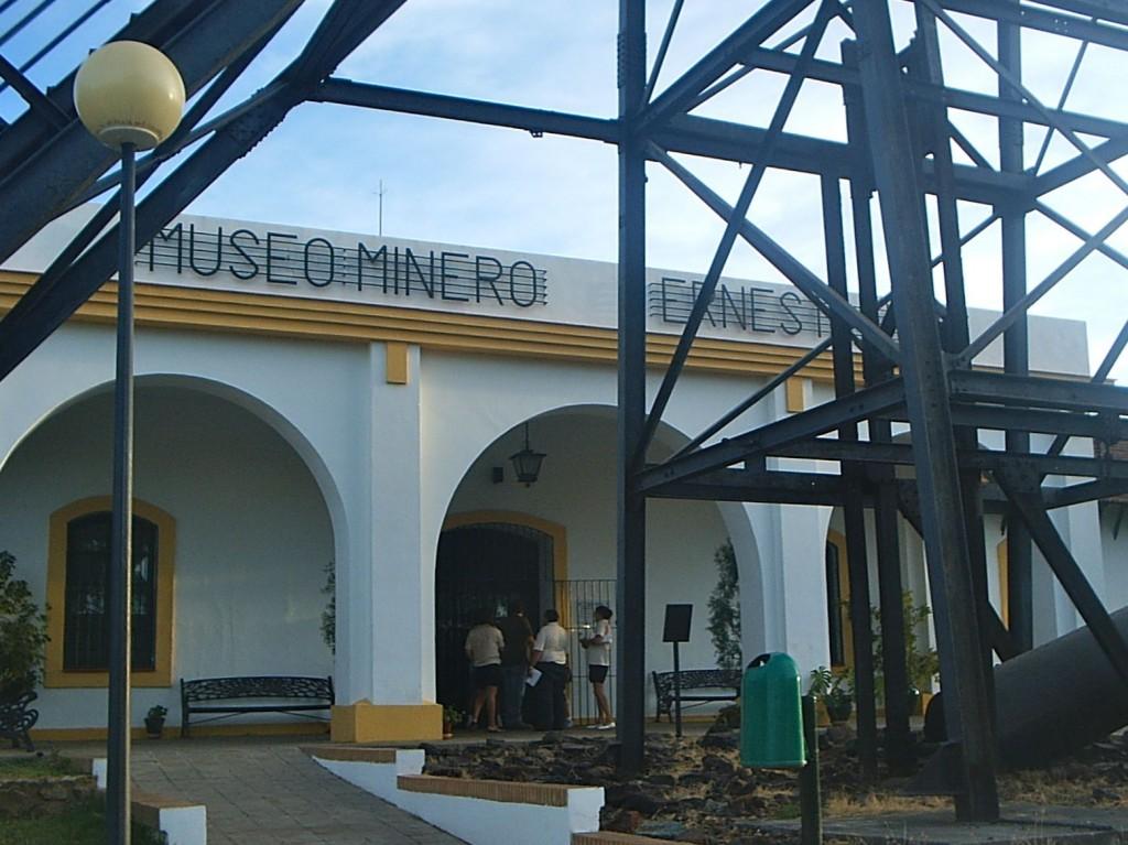 Entrada al Museo Minero de RioTinto