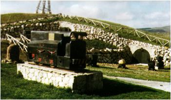 Exterior de la mina visitable